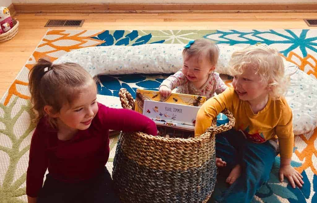 Montessori Summer Morning Basket