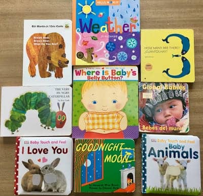baby and young toddler books