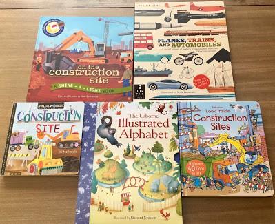 vehicle and alphabet books