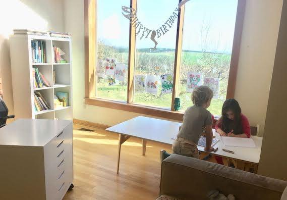 Montessori Art and Handwriting Space