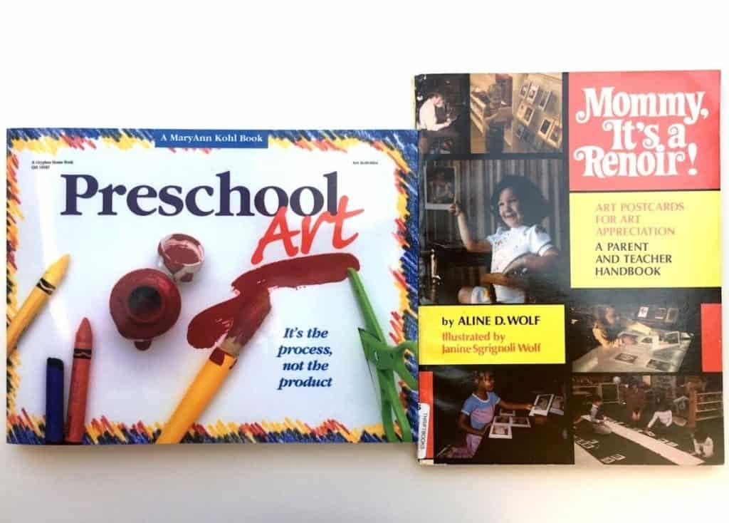 Montessori Primary Curriculum Books Preschool Process Art and Art Appreciation Books