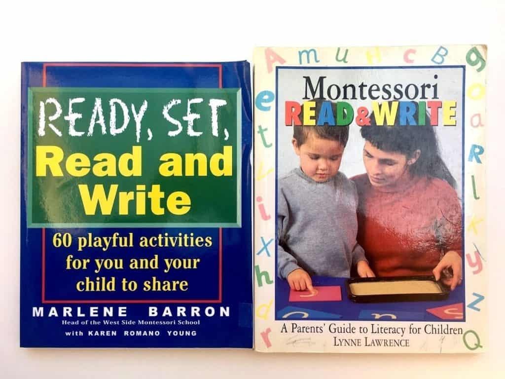 Montessori Primary Curriculum Books for Language
