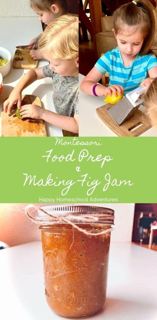 Montessori Food Prep Tools and Lesson in a Minimalist Homeschool Space. Perfectly suited for Primary and Elementary environments. #montessori #homeschool #kidseathealthy #montessoripracticallife #montessorifoodprep