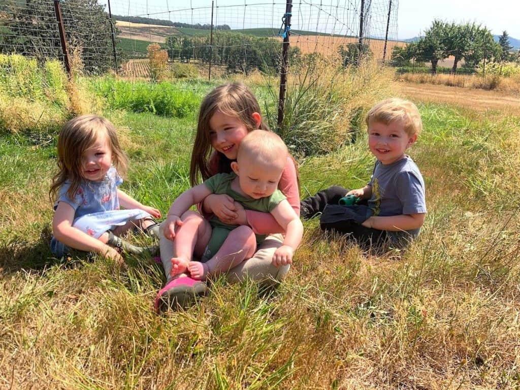 Montessori Homeschooling Family on a Farm